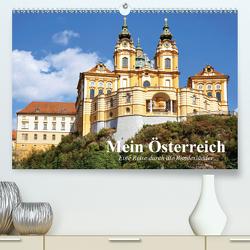 Mein Österreich. Eine Reise durch die Bundesländer (Premium, hochwertiger DIN A2 Wandkalender 2021, Kunstdruck in Hochglanz) von Stanzer,  Elisabeth