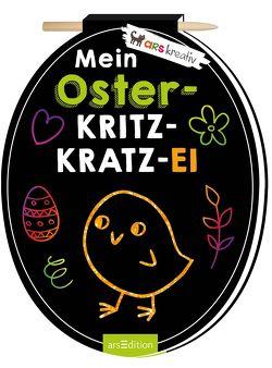 Mein Oster-Kritzkratz-Ei