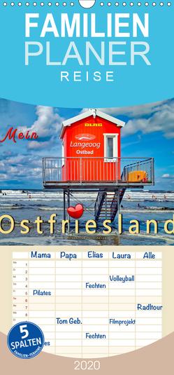 Mein Ostfriesland – Familienplaner hoch (Wandkalender 2020 , 21 cm x 45 cm, hoch) von Roder,  Peter