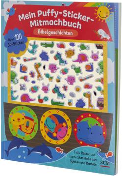 Mein Puffy-Sticker-Mitmachbuch – Bibelgeschichten von Machell,  Dawn, Schalk,  Anita