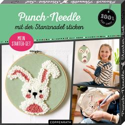 """Mein Punch-Needle Starter-Set """"Häschen"""""""