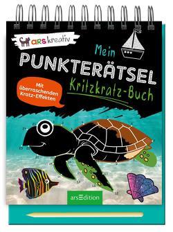 Mein Punkterätsel-Kritzkratz-Buch
