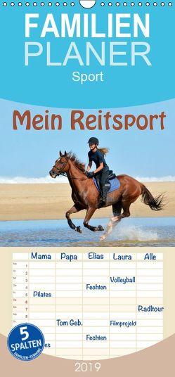 Mein Reitsport Kalender – Familienplaner hoch (Wandkalender 2019 , 21 cm x 45 cm, hoch) von van Wyk - www.germanpix.net,  Anke
