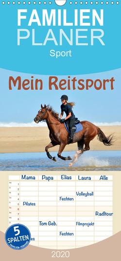 Mein Reitsport Kalender – Familienplaner hoch (Wandkalender 2020 , 21 cm x 45 cm, hoch) von van Wyk - www.germanpix.net,  Anke