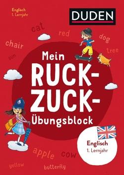Mein Ruckzuck-Übungsblock Englisch 1. Lernjahr von Heger,  Judith, Stier,  Kattrin