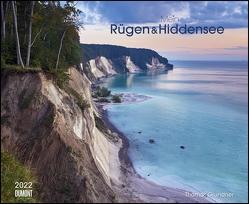 Mein Rügen & Hiddensee 2022 – Wandkalender 52 x 42,5 cm – Spiralbindung von Grundner,  Thomas