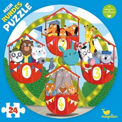 Mein rundes Puzzle – Auf dem Riesenrad von Behl,  Anne-Kathrin