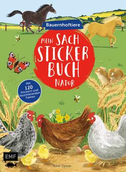 Mein Sach-Stickerbuch Natur – Bauernhoftiere von Dyson,  Nikki