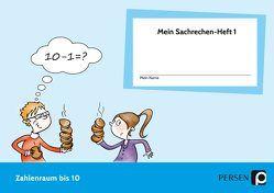 Mein Sachrechen-Heft 1 von Wefelmeier,  Birte