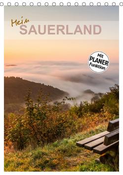 Mein Sauerland-Terminplaner (Tischkalender 2020 DIN A5 hoch) von Bücker,  Heidi