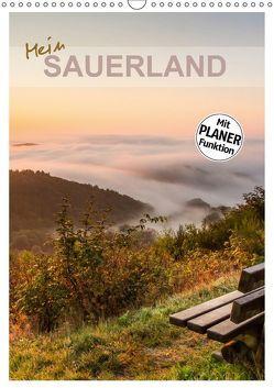 Mein Sauerland-Terminplaner (Wandkalender 2018 DIN A3 hoch) von Bücker,  Heidi