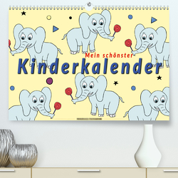 Mein schönster Kinderkalender (Premium, hochwertiger DIN A2 Wandkalender 2021, Kunstdruck in Hochglanz) von Roder,  Peter