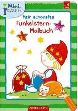 Mein schönstes Funkelstern-Malbuch (Sandmännchen) von Bieber,  Hartmut