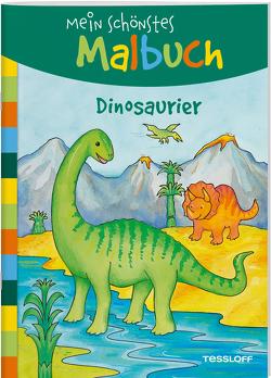Mein schönstes Malbuch. Dinosaurier von Beurenmeister,  Corina