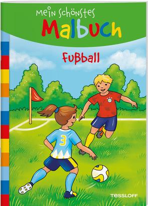 Mein schönstes Malbuch. Fußball von Beurenmeister,  Corina