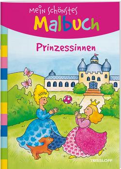 Mein schönstes Malbuch. Prinzessinnen von Beurenmeister,  Corina