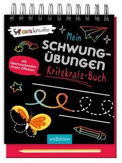 Mein Schwungübungen-Kritzkratz-Buch
