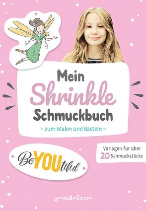 Mein Shrinkle Schmuckbuch zum Malen und Basteln ab 5 Jahre (rosa) – DIY: Lieblingsanhänger mit Schrumpffolie selbst anfertigen!