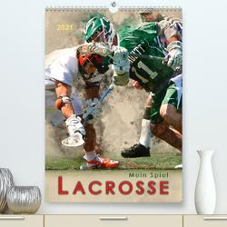 Mein Spiel – Lacrosse (Premium, hochwertiger DIN A2 Wandkalender 2021, Kunstdruck in Hochglanz) von Roder,  Peter