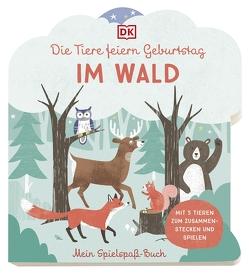 Mein Spielspaß-Buch. Die Tiere feiern Geburtstag im Wald von Bruns,  Elena