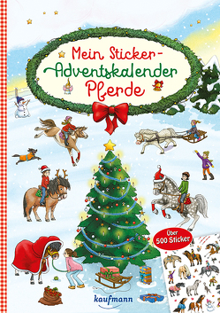 Mein Sticker-Adventskalender von Gerigk,  Julia