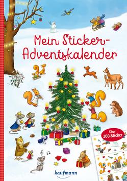 Mein Sticker-Adventskalender von Kamlah,  Klara, Stickel,  Stephanie