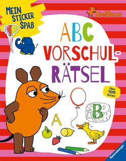 Mein Sticker Spaß Die Maus: ABC Vorschulrätsel