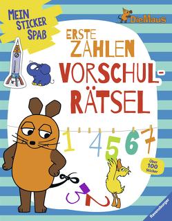 Mein Sticker Spaß Die Maus: Erste Zahlen Vorschulrätsel von WDR mediagroup licensing GmbH