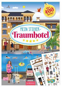 Mein Sticker-Traumhotel von Bräuer,  Ingrid