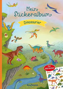 Mein Stickeralbum Dinosaurier von Gerigk,  Julia, Kamlah,  Klara