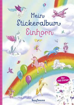 Mein Stickeralbum Einhorn von Gerigk,  Julia, Kamlah,  Klara