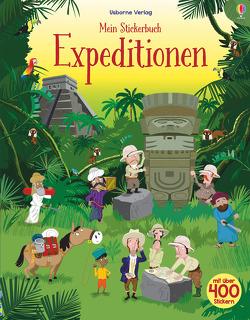 Mein Stickerbuch: Expeditionen von Nicholls,  Paul, Watt,  Fiona