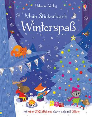 Mein Stickerbuch: Winterspaß von Baggott,  Stella, Watt,  Fiona
