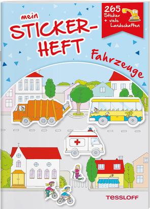 Mein Stickerheft. Fahrzeuge von Kiefmann,  Elisabeth, Schmidt,  Sandra
