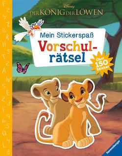 Mein Stickerspaß Disney Der König der Löwen: Vorschulrätsel von Hahn,  Stefanie, The Walt Disney Company