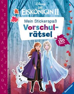 Mein Stickerspaß Disney Die Eiskönigin 2: Vorschulrätsel von Hahn,  Stefanie, The Walt Disney Company