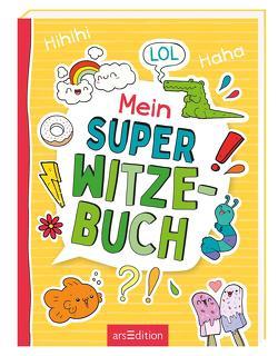 Mein super Witzebuch von Kiefer,  Philip, Löwenberg,  Ute, Wagner,  Charlotte