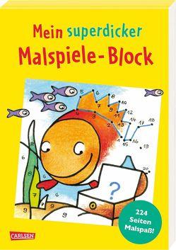 Mein superdicker Malspiele-Block von Muszynski,  Eva