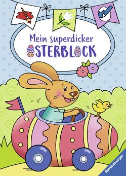Mein superdicker Osterblock von Penner,  Angelika