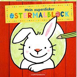 Mein superdicker Ostermalblock von Maike Taddicken, Maja Bach