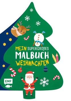 Mein supergroßes Malbuch – Weihnachten (Tannenbaum)