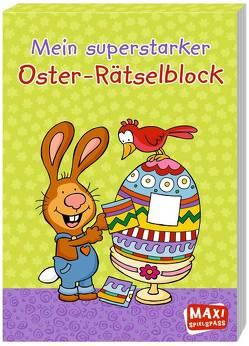 Mein superstarker Oster-Rätselblock von Wagner,  Charlotte
