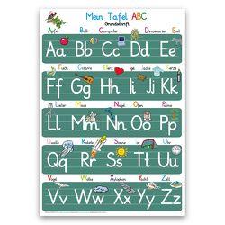 Mein Tafel ABC in Grundschrift von Momm,  Helga