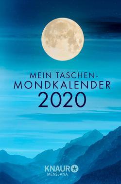 Mein Taschen-Mondkalender 2020 von Wolfram,  Christine
