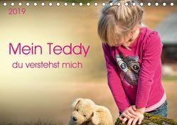 Mein Teddy – du verstehst mich (Tischkalender 2019 DIN A5 quer) von Roder,  Peter