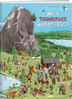 Mein Thunersee Wimmelbuch von Geser,  Celine