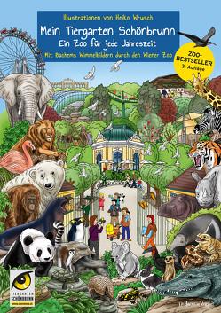 Mein Tiergarten Schönbrunn von Wrusch,  Heiko