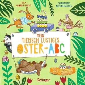 Mein tierisch lustiges Oster-ABC von Knopp-Kilpert,  Inga, Rittershausen,  Christiane