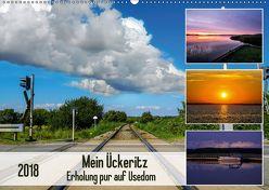 Mein Ückeritz – Erholung pur auf Usedom (Wandkalender 2018 DIN A2 quer) von LaPics,  k.A.