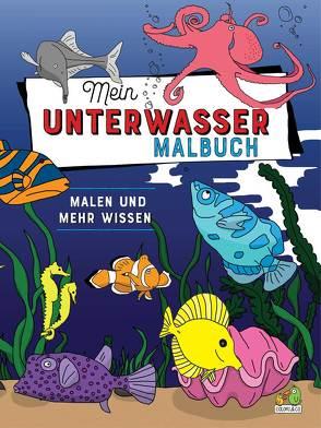 Mein Unterwasser Malbuch von Colori & Co.